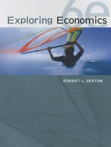 Exploring Economics  6th 2013 edition cover