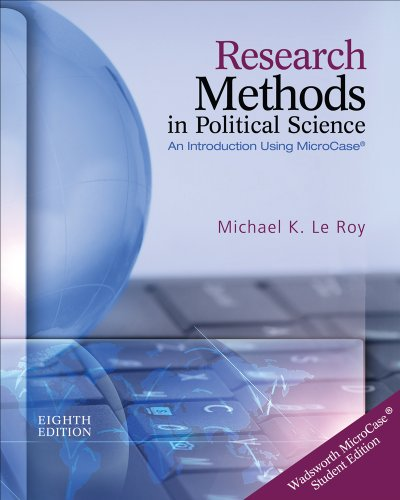 Research Methods in Political Science  8th 2013 edition cover