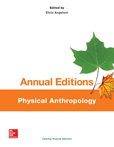 Physical Anthropology  24th 2015 edition cover
