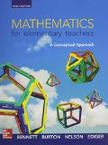 Math for Elementary Teachers: a Conceptual Approach with Connect Access Card  10th 2016 9781259621307 Front Cover