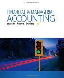 Financial & Managerial Accounting:   2015 9781285866307 Front Cover