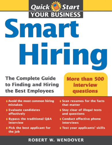 Smart Hiring  5th 2007 9781402209307 Front Cover