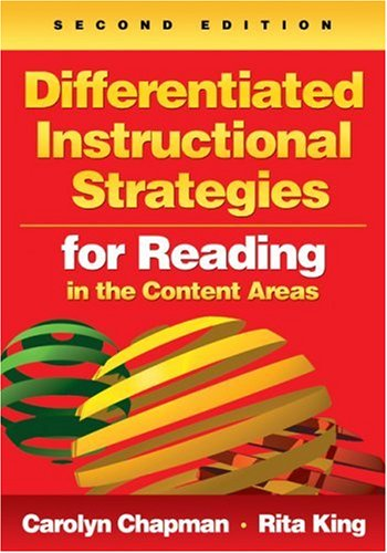 Differentiated Instructional Strategies for Reading in the Content Areas  2nd 2009 edition cover
