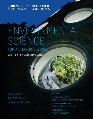 Scientific American Environmental Science for a Changing World with Extended Coverage   2013 edition cover