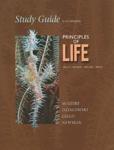 Study Guide to Accompany Principles of Life   2010 9781429279307 Front Cover