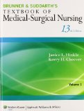 Textbook of Medical-Surgical Nurisng  13th edition cover