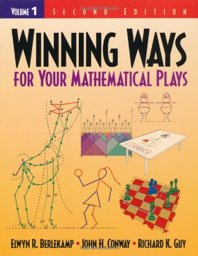 Winning Ways for Your Mathematical Plays  2nd 2001 (Revised) edition cover