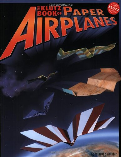 Klutz Book of Paper Airplanes   2004 edition cover