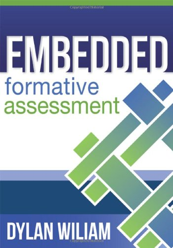 Embedded Formative Assessment   2011 edition cover