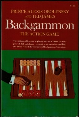 Backgammon: The Action Game  1969 9780020810308 Front Cover