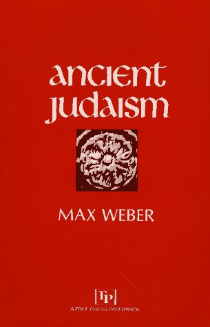 Ancient Judaism   1967 9780029341308 Front Cover