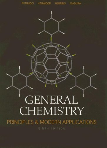 General Chemistry Principles and Modern Applications 9th 2007 (Revised) edition cover