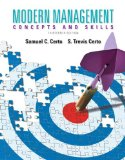 Modern Management Concepts and Skills Plus 2014 MyManagementLab with Pearson EText -- Access Card Package 13th 2014 9780133853308 Front Cover