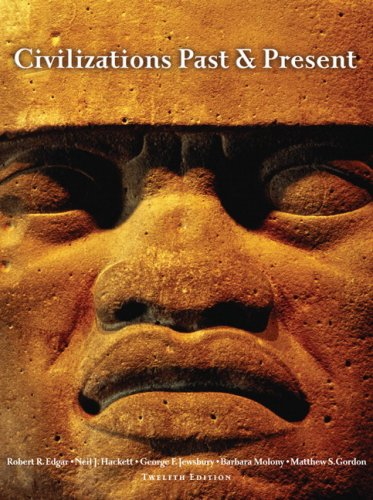Civilizations Past and Present  12th 2008 edition cover