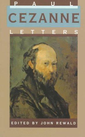 Paul Cezanne, Letters  4th 1995 (Reprint) edition cover