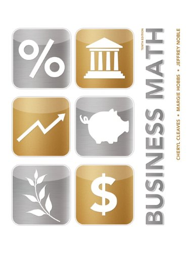 Business Math  10th 2014 edition cover