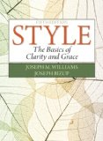 Style: The Basics of Clarity and Grace  2014 9780321953308 Front Cover