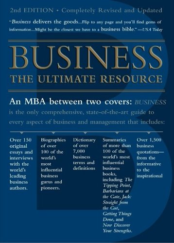 Business The Ultimate Resource 2nd 2007 (Revised) edition cover