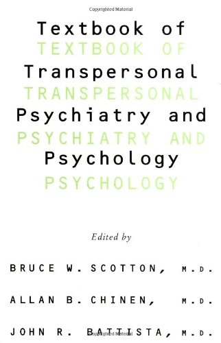 Textbook of Transpersonal Psychiatry and Psychology  N/A edition cover