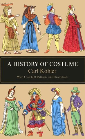 History of Costume   1963 edition cover