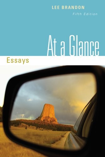 At a Glance Essays 5th 2012 edition cover