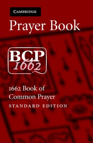 Prayer Book  N/A 9780521681308 Front Cover