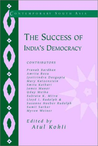 Success of India's Democracy   2001 edition cover
