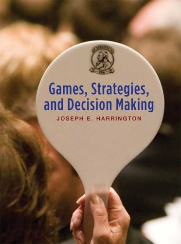Games, Strategies, and Decision Making   2009 edition cover