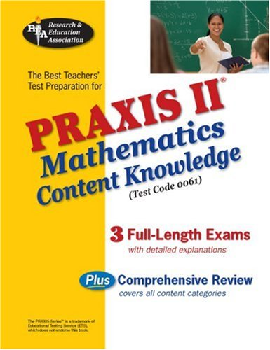 Praxis II Mathematics Content Knowledge N/A 9780738603308 Front Cover