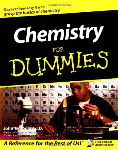 Chemistry for Dummies   2003 edition cover