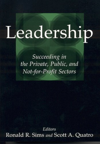 Leadership Succeeding in the Private, Public, and Not-for-Profit Sectors  2005 edition cover