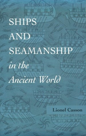Ships and Seamanship in the Ancient World   1995 edition cover