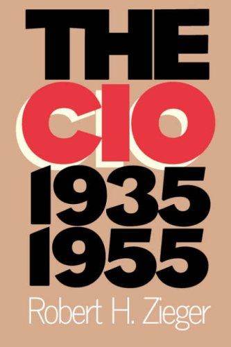 CIO, 1935-1955   1997 edition cover