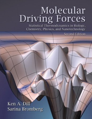 Molecular Driving Forces Statistical Thermodynamics in Biology, Chemistry, Physics, and Nanoscience 2nd 2011 (Revised) 9780815344308 Front Cover