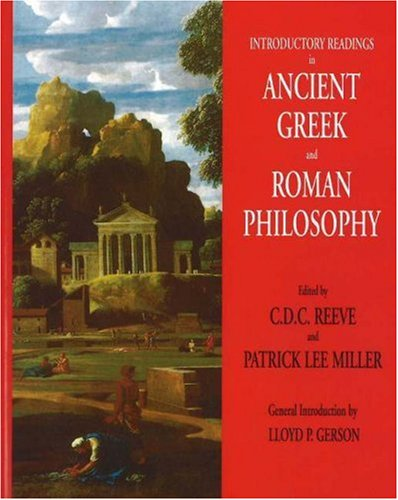Introductory Readings in Ancient Greek and Roman Philosophy   2006 edition cover