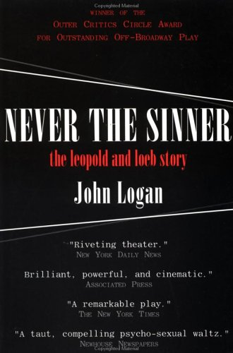 Never the Sinner  N/A 9780879519308 Front Cover