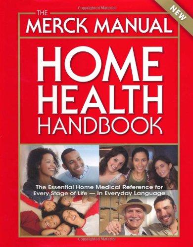 Merck Manual Home Health Handbook  3rd 2010 (Handbook (Instructor's)) edition cover