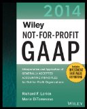 Wiley Not-For-Profit GAAP 2014 Interpretation and Application of Generally Accepted Accounting Principles 11th 2014 edition cover