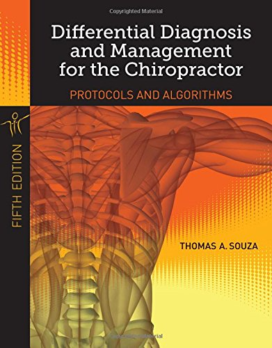 Differential Diagnosis and Management for Chiropractors: Protocols and Algorithms  2014 edition cover