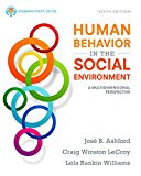 Human Behavior in the Social Environment: A Multidimensional Perspective  2017 edition cover