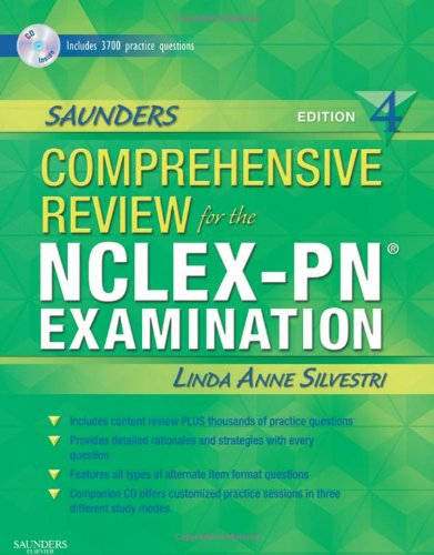 Saunders Comprehensive Review for the NCLEX-PN� Examination  4th 2010 edition cover