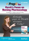 PrepU for Karch's Focus on Nursing Pharmacology  6th 2012 edition cover