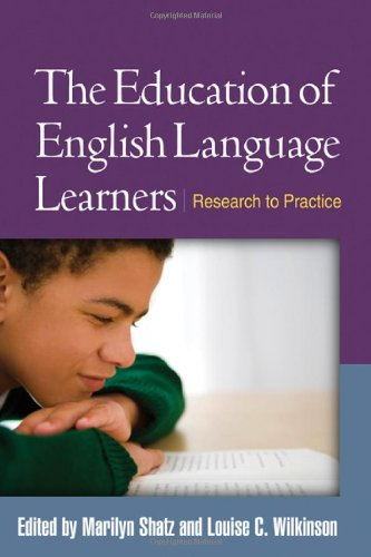 Education of English Language Learners Research to Practice  2010 edition cover