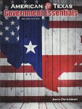 American and Texas Government Essentials  2nd (Revised) edition cover