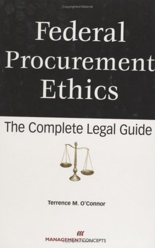 FEDERAL PROCUREMENT ETHICS N/A 9781567262308 Front Cover