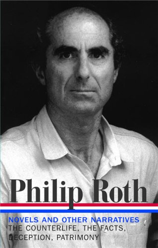 Philip Roth The Counterlife / The Facts / Deception / Patrimony  2008 edition cover