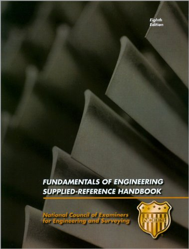 Fundamentals of Engineering Supplied-Reference Handbook N/A edition cover