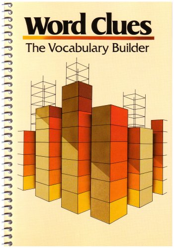 Word Clues Vocabulary Builder   1983 edition cover