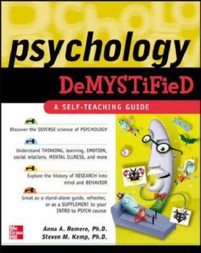 Psychology Demystified   2007 9780071460309 Front Cover