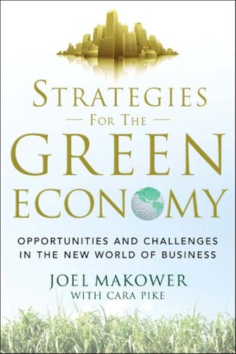 Strategies for the Green Economy Opportunities and Challenges in the New World of Business  2009 edition cover